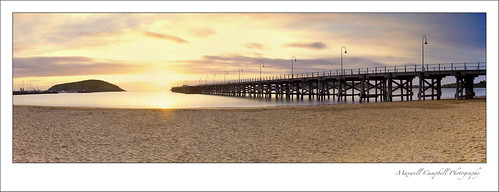 longexposure panorama seascape beach sunrise canon landscape pier sand jetty australia nsw coffsharbour