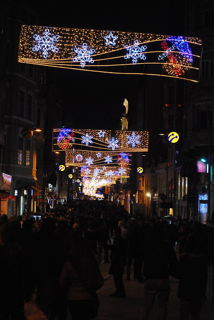 New Year Lights in Istanbul