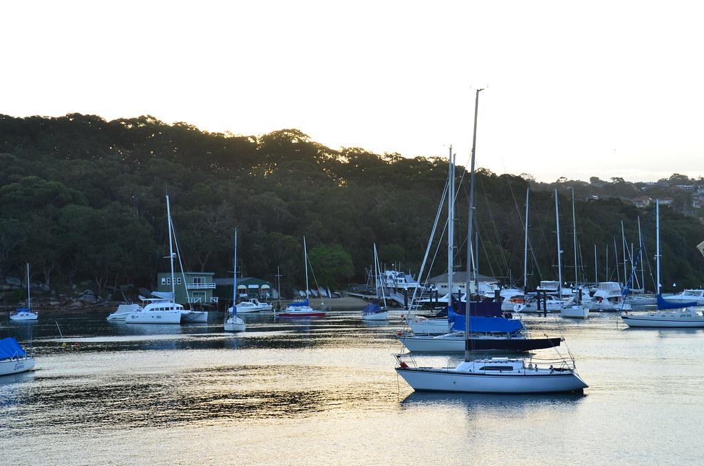 Dusk, Fairlight, NSW