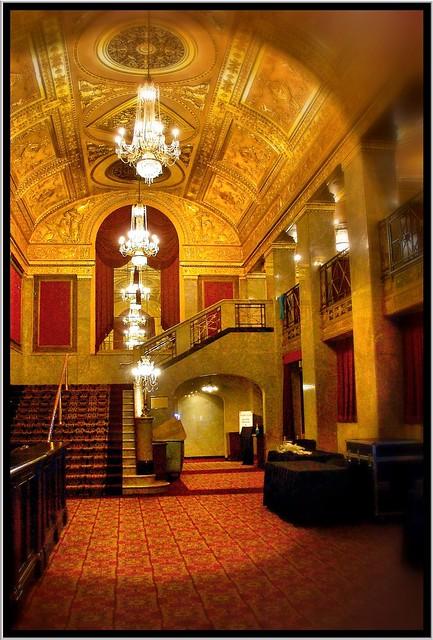 Warner Theatre ~  Washington DC (Interior) Lobby
