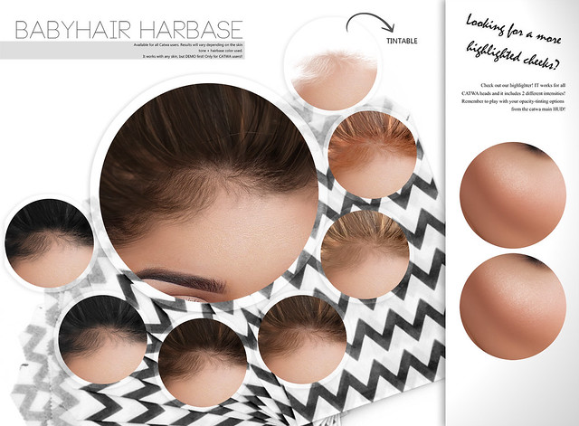 New hairbase and highlighter @L'EtreMainstore!