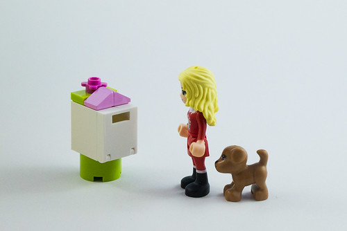Let's get the post!   by The LEGO woman