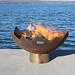 The Great Flaming Lotus Sculptural Firebowl Print Quality Photos
