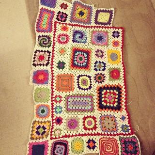 Granny square sampler