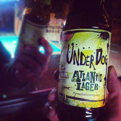 Underdog Atlantic Lager #2D1F #beer   by drewdomkus
