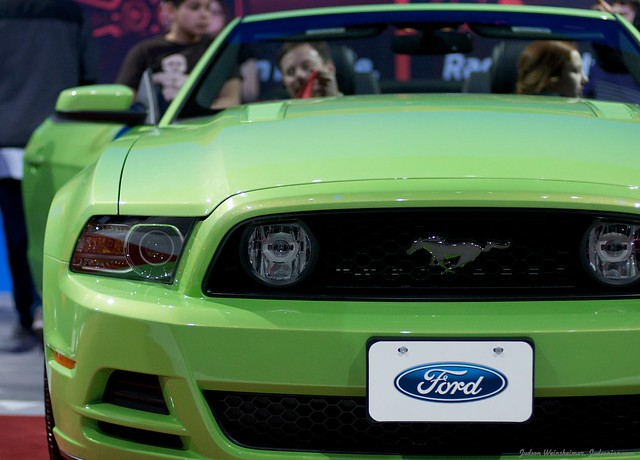 2013 Washington Auto Show - Upper Concourse - Ford 17