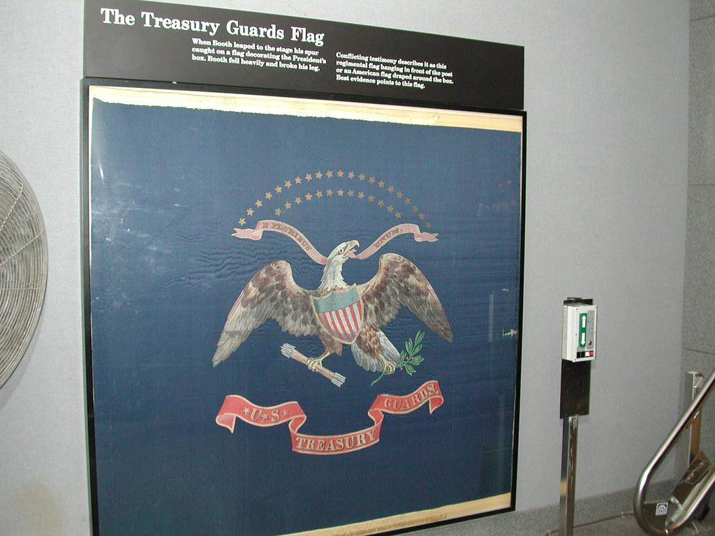 Treasury Guards Flag The Treasury Guards Flag Quot When