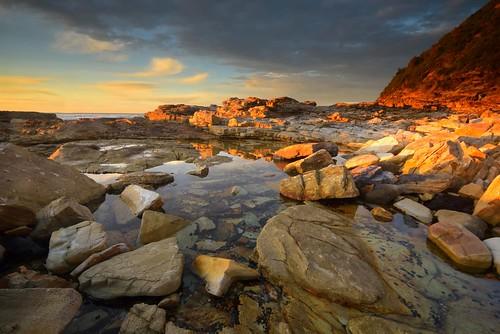 swanseaheads newsouthwales australia nikond750 nikon1635mmf4 seascape shore coast rocks chalkybeach