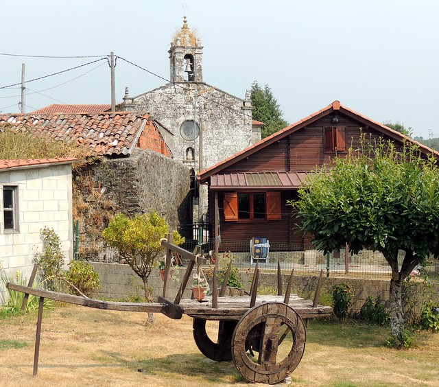 5259-Igrexa da Laxe en Vilasantar (A Coruña)