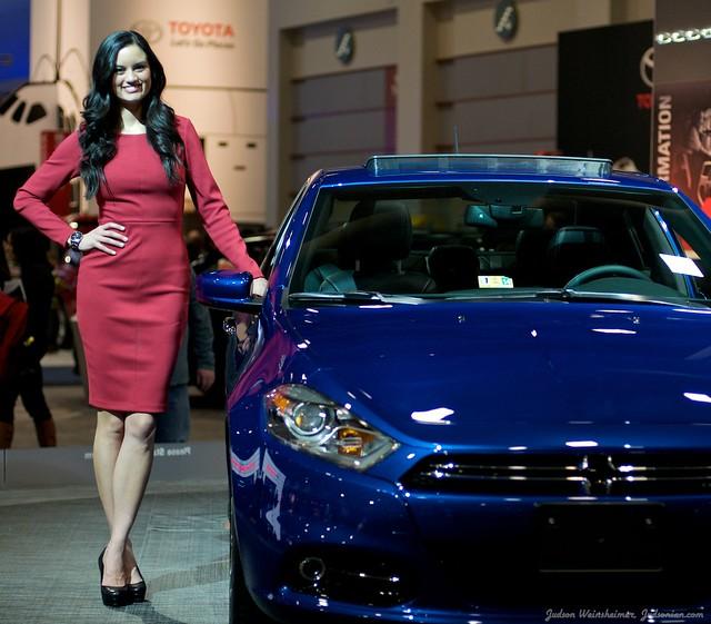 2013 Washington Auto Show - Upper Concourse - Dodge 8