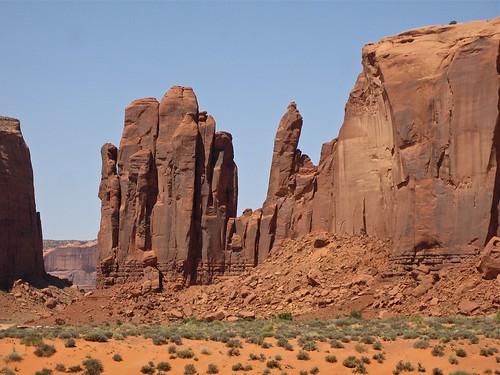 amérique érosion landscape monumentvalley paysage roche usa