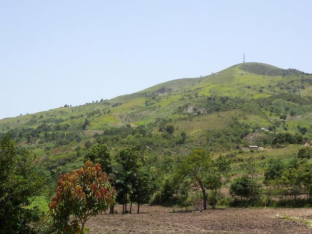 Deforested Central Plateau - Haiti