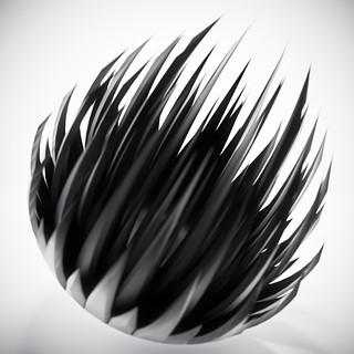 zipper ball black   by blackpawn