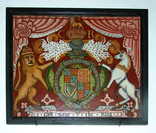 Charles I royal arms | by Simon Knott