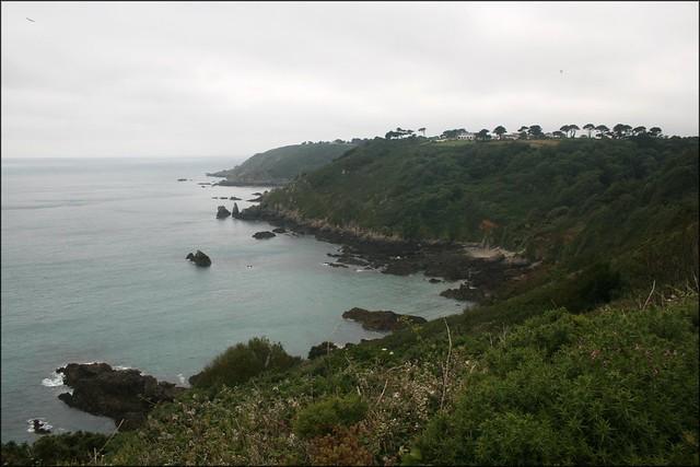 Between Saints Bay and Moulin Huet Bay, Guernsey