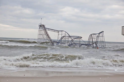 Superstorm Sandy damage in Seaside Heights New Jersey   by Anthony Quintano