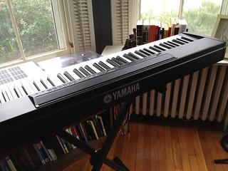 Yamaha P80 Digital Piano | by Joshua Schnable