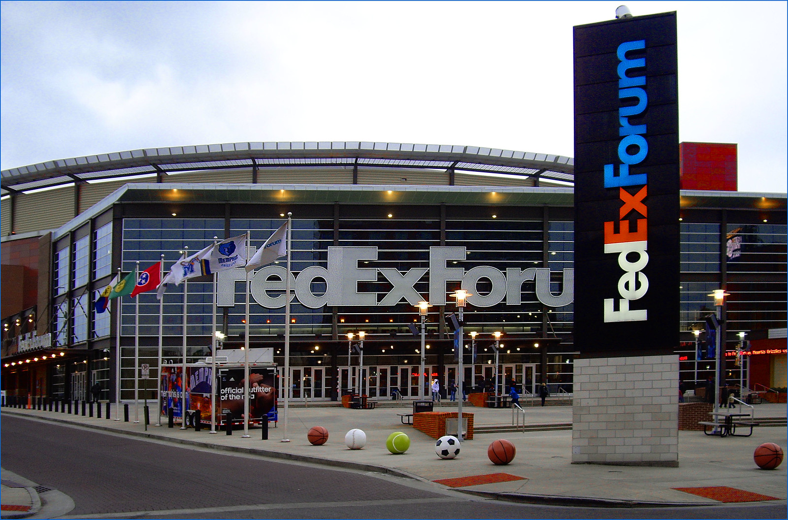 FedExForum Memphis (TN) February 2013