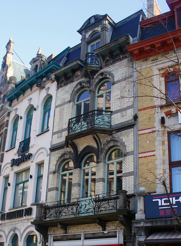 Edificio modernista Gante