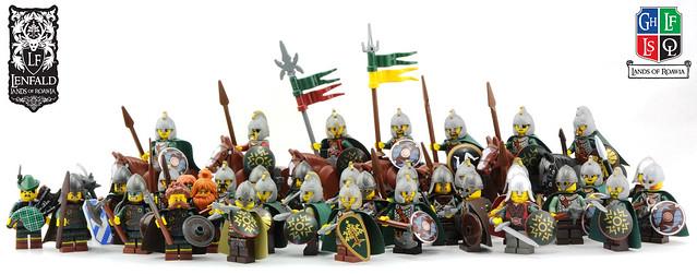 Lenfald - Huscarls and Highlanders