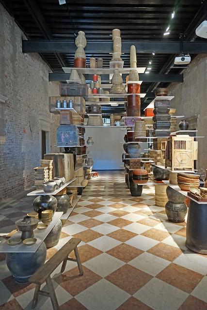 The floating kitchen (Palais Ca'Tron, Venise)