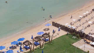 A beach separated in Alexandria   by Kodak Agfa