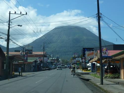 Arenal vulkaan vanuit La Fortuna