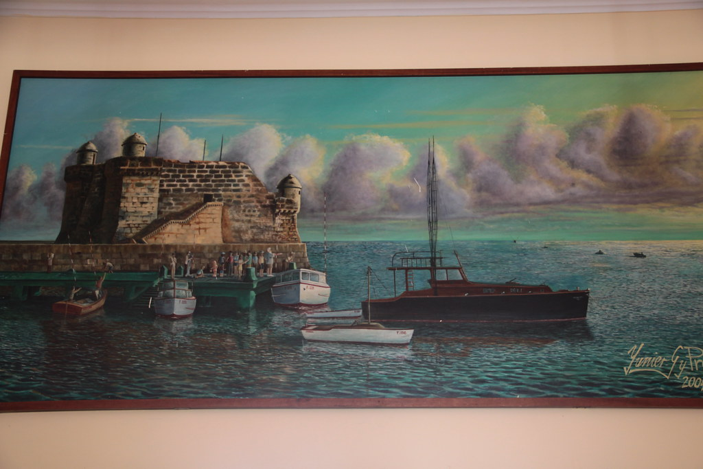 Painting Of Pilar La Terraza Bar And Restaurant Cojimar