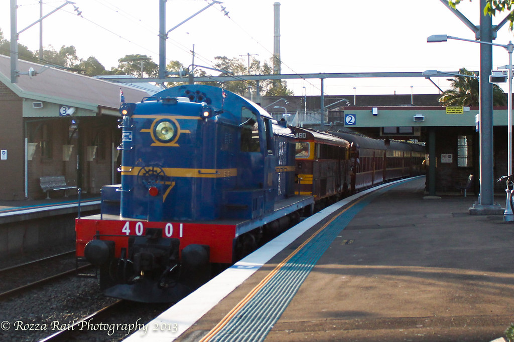 4001 + 4490 lead RTM charter by Roy