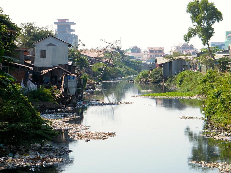 Waste dump in Phnom Penh
