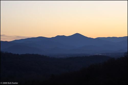 sky mountains clouds unitedstates asheville northcarolina smokymountains mountin mtmitchell