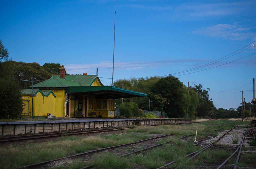 Nyora Railway Yard by Simon Yeo