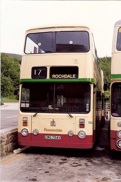 Rossendale Transport 154 (CWG154V) 21061992