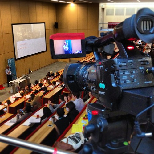 NSEC 2013 ... filming & live streaming   by Zee Chaudhry