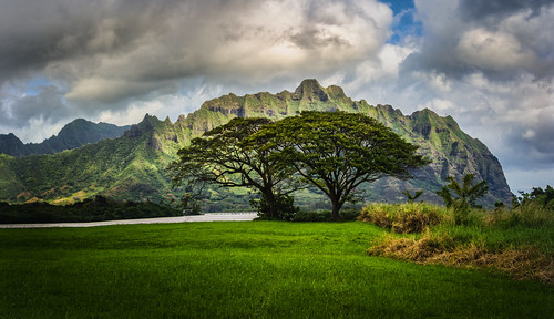 The Lost Cliffs of Oahu