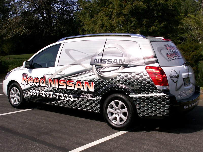 Orlando Minivan wrap by TechnoSigns