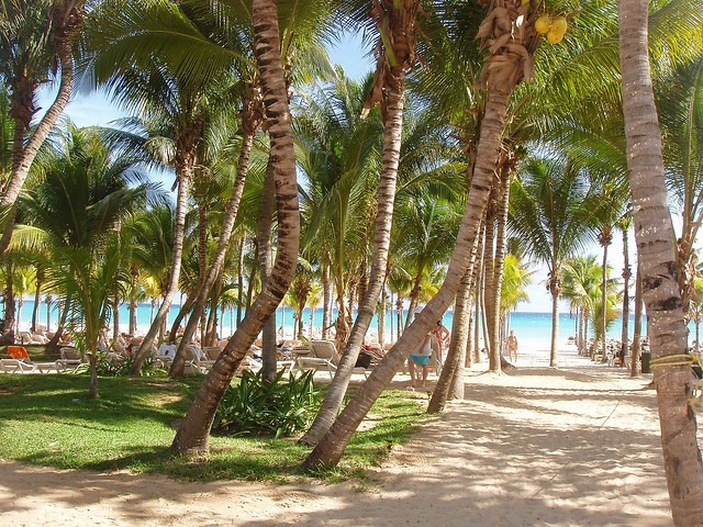 beach am Riu Tequila
