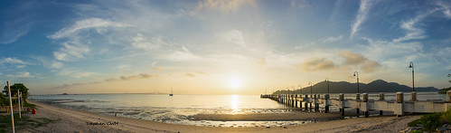 Panorama Pulau Jerejak Jetty, Penang | by Stephen CWH