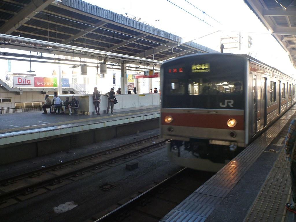 Nishi-Funabashi Station, JR