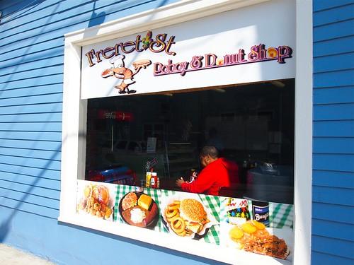 Freret Street Poboy and Donut Shop. Photo by Melanie Merz.