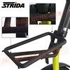 186-203 STRIDA 16吋LT版折疊單車(碟剎)消光芥末黃色2013年版6