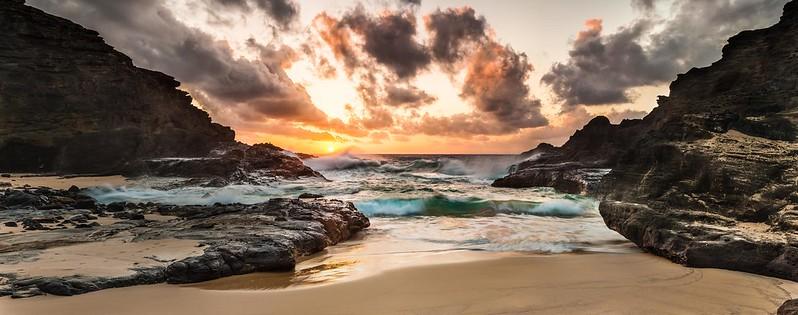 Halona Beach Cove Sunrise