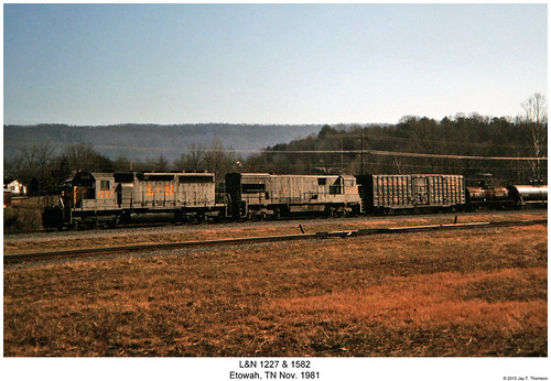 railroad train diesel tennessee railway trains locomotive uboat trainengine ge u30 ln etowah emd sd40 louisvilleandnashville sixaxle u30c