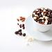 Trail Mix Coffee Buzz almonds raisins chocolate espresso beans white chocolate chips snack treats