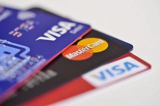 Visa and MasterCard Credit Card Closeup | by HloomHloom