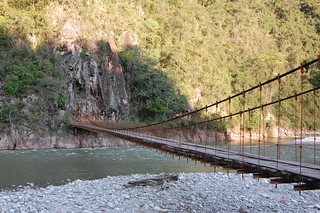 Puente Colgante Kimiri, near La Merced, Chanchamauyo, Junín, Peru | by blueskylimit