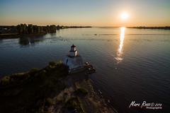 Le phare de l'île du moine
