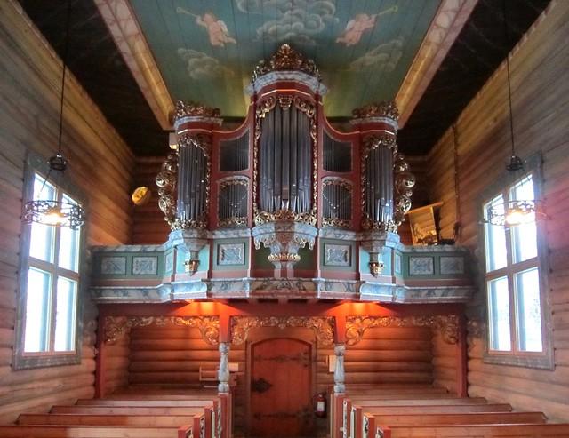 Heidal kirke - Orgelgalleri