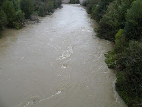 water rain river de gris eau wasser à pluie zug ufer fluss pau janvier regen gave crue rive tourbillon flut orthez gavedepau 2013 orthezjanvier2013