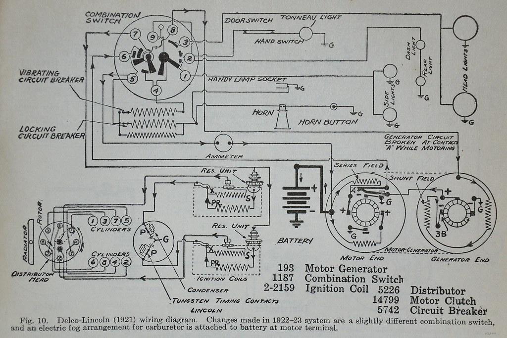 automotive generator wiring diagram lincoln  21 wiring diagram dyke s automotive 1928 flickr  lincoln  21 wiring diagram dyke s